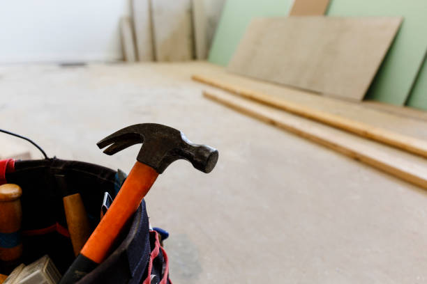 Travaux de rénovation dans une maison